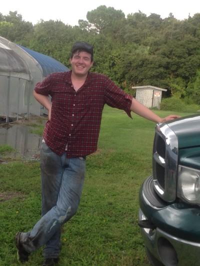 Dan at Truck